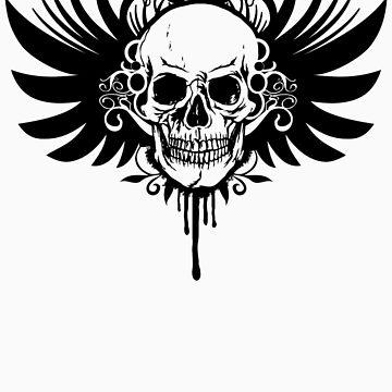skull by klupit