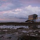 The Lifeboat House - Panorama by Ursula Rodgers
