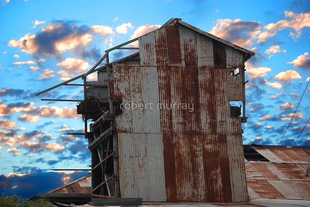 Rusty and old by robert murray