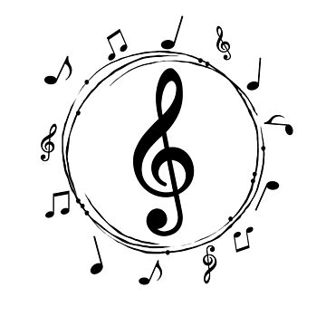 musical note t-shirts by skshirts