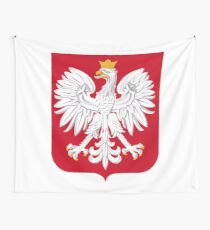 Coat of arms of Poland Wall Tapestry