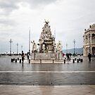 Fountain of the four continents, Piazza Unità d'Italia, Trieste, Italy by Yannik Hay