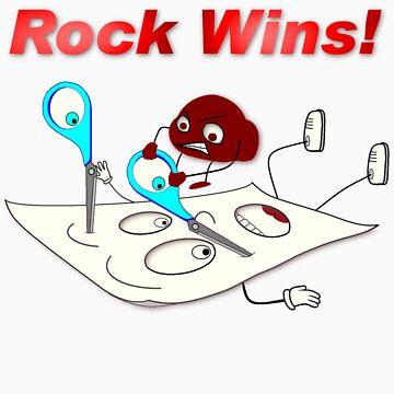 Rock Wins! by danman