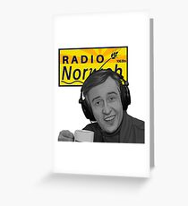 """Radio Norwich"" Greeting Card"