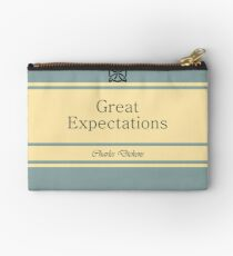 Great Expectations Retro Book Cover Studio Pouch