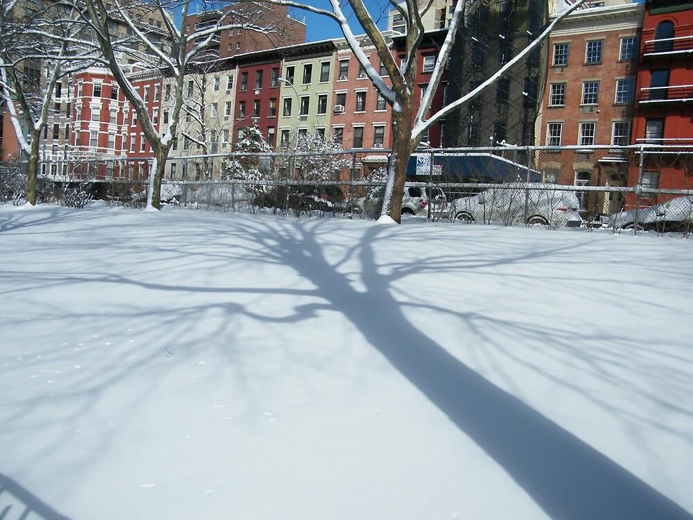 West 30s Manhattan Snow Views, New York City by lenspiro