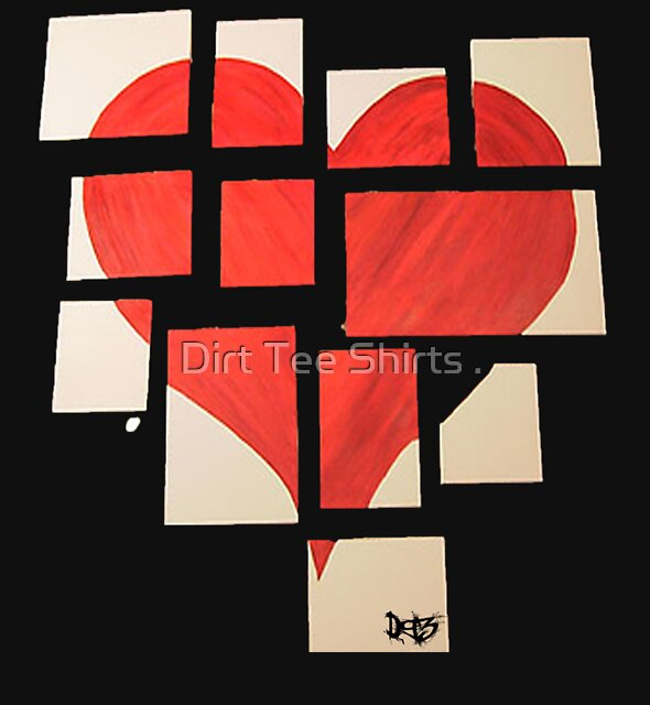 Della's Heart by Dirt Tee Shirts .