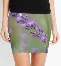 close up of lavdender violet stem. Mini Skirt