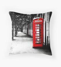London Calling - London Rote Telefonzelle - Klassische britische Telefonzelle Kissen