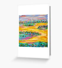 Yellow Dreaming Greeting Card