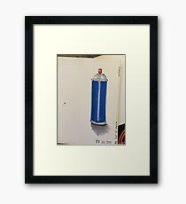 aerosol  Framed Print