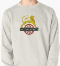 British Railway Lion on Bicycle Emblem Pullover