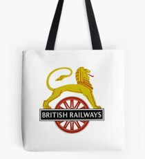 British Railway Lion on Bicycle Emblem Tote Bag