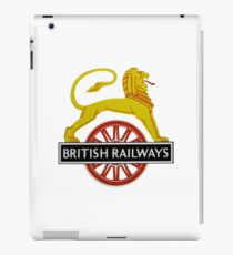 British Railway Lion on Bicycle Emblem iPad Case/Skin