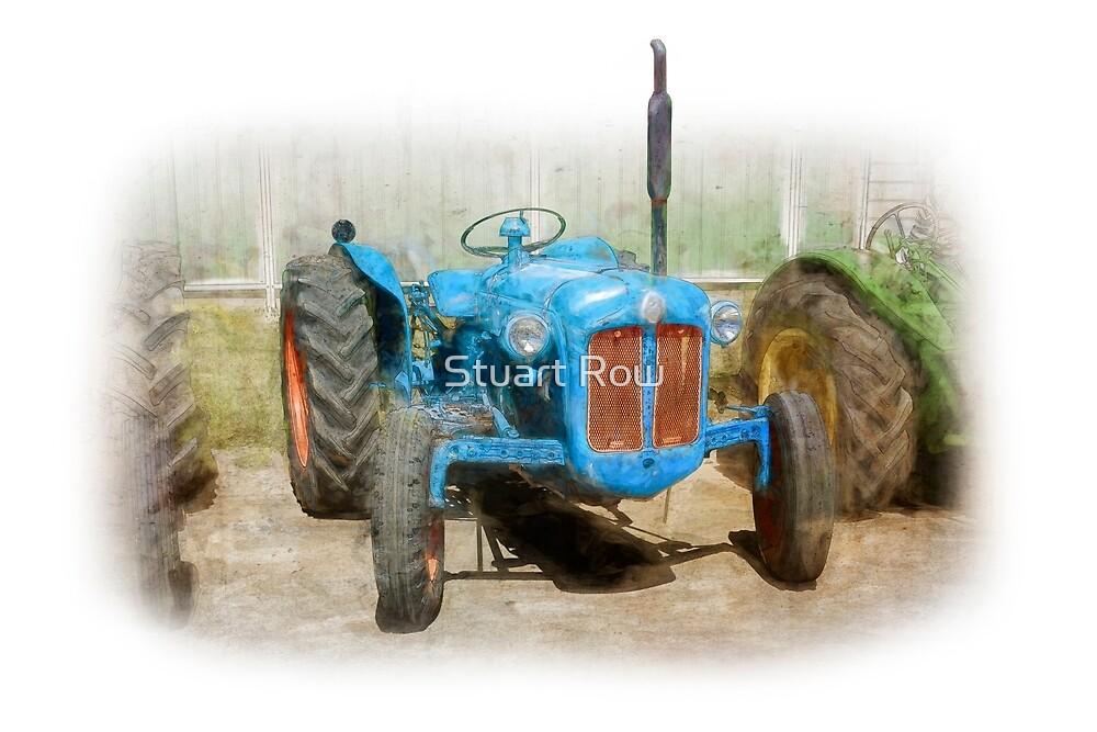 Fordson Dexta Tractor by Stuart Row