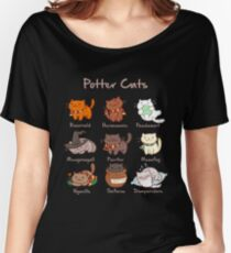 Potter Cats Women's Relaxed Fit T-Shirt