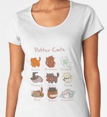 Potter Cats Women's Premium T-Shirt