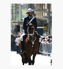 Mounted Police Photographic Print