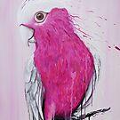 Bird Series - Pink Galah by tank