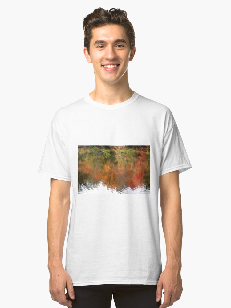 Alternate view of Fall Upside Right Classic T-Shirt