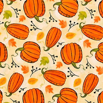 Pumpkins pattern by CatyArte