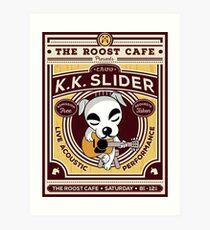 K.K. Slider Gig Poster Art Print