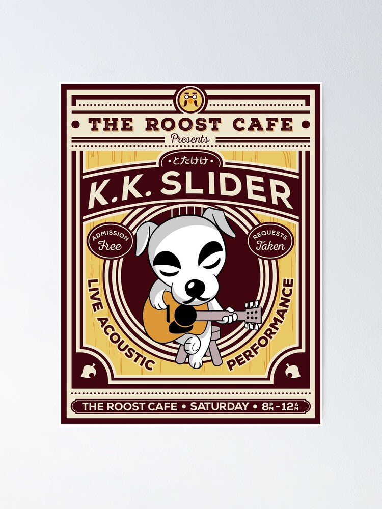 Alternate view of K.K. Slider Gig Poster Poster