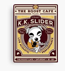 K.K. Slider Gig Poster Canvas Print