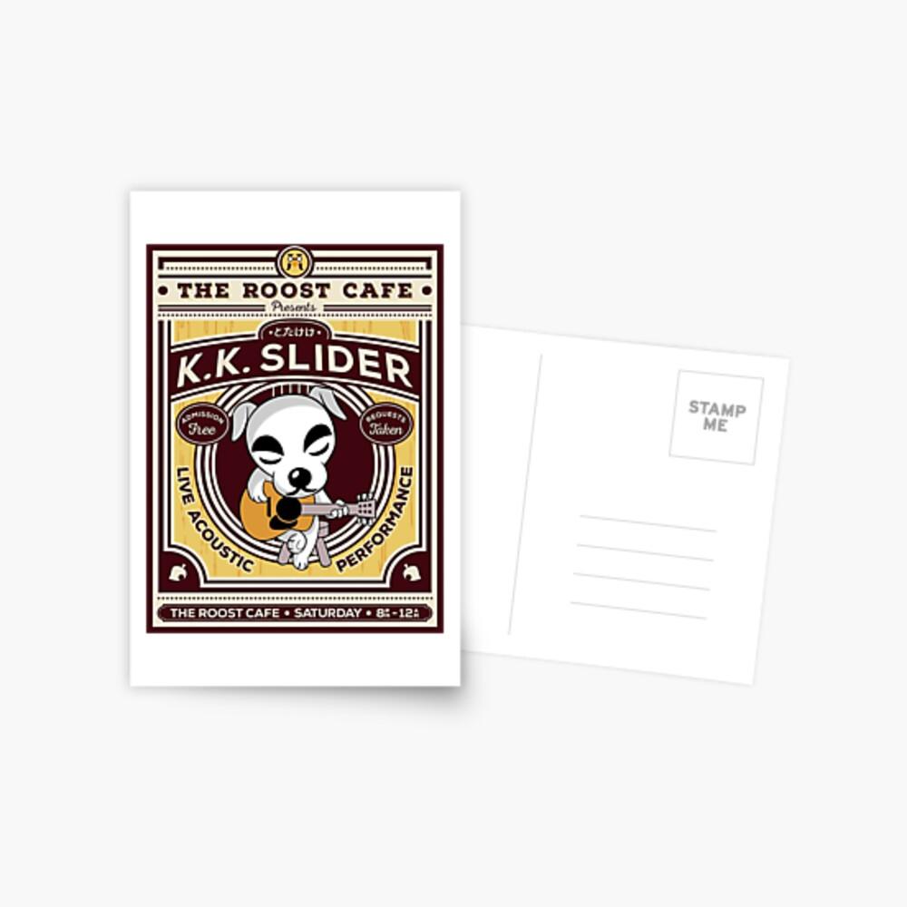 K.K. Slider Gig Poster Postcard