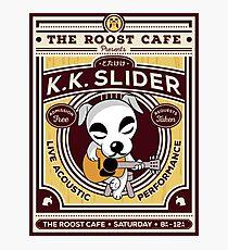 K.K. Slider Gig Poster Photographic Print