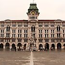 City Hall, Piazza Unità d'Italia, Trieste, Italy by Yannik Hay
