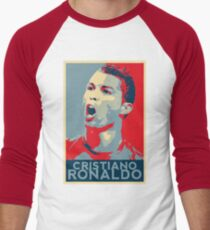 """Cristiano Ronaldo Portrait inspired by the Barack Obama """"Hope"""" poster designed by Shepard Fairey. T-Shirt"""