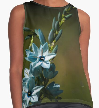 Blue Flowers really do Exist! Contrast Tank