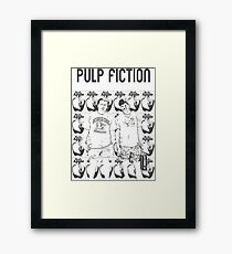 Pulp Fiction - Quentin Tarantino Framed Print