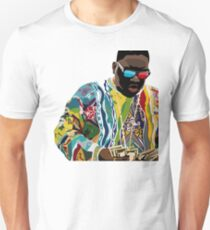 Biggie Sticker Unisex T-Shirt
