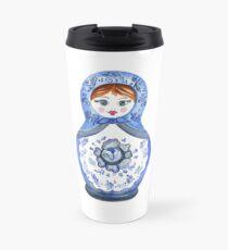 Sweet Babushka doll Travel Mug