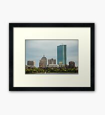 Downtown Boston Framed Print