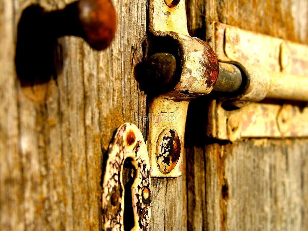old door latch by bally58