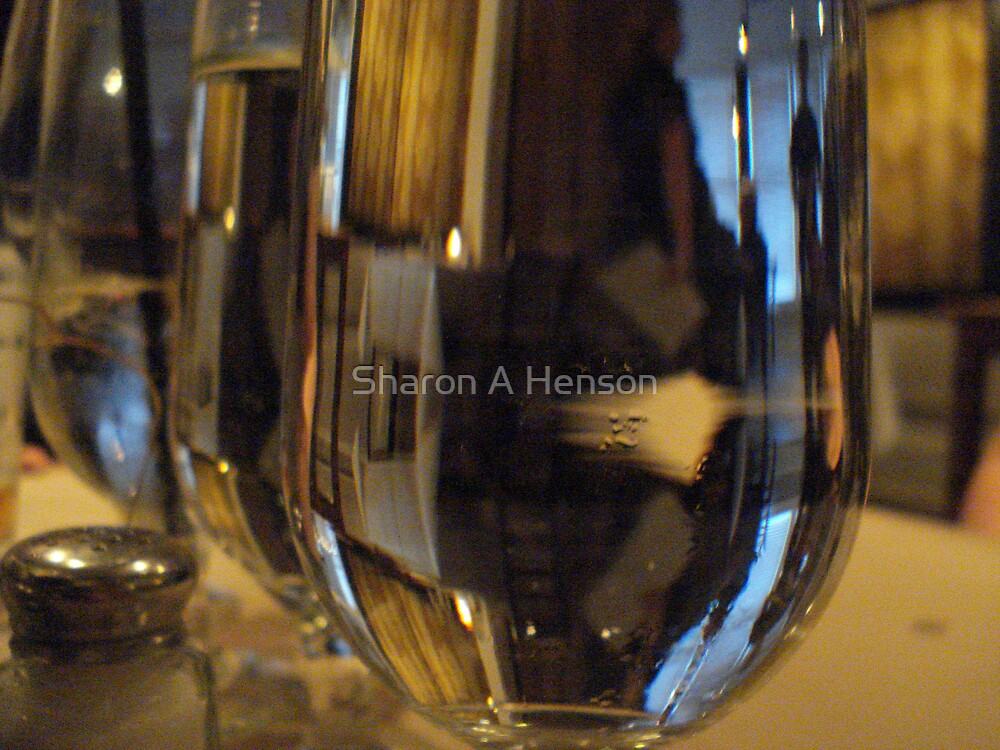 WATER GLASS by Sharon A. Henson