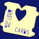 Carbs Bread Clip by Natalie Perkins