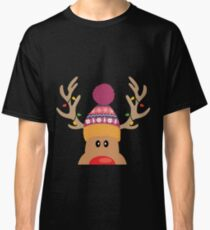 Rudolph Red Nosed Reindeer is looking at you Classic T-Shirt