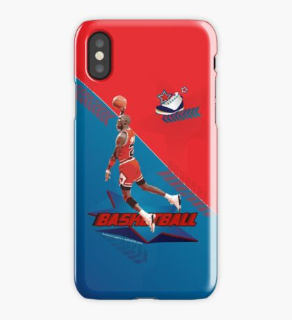 Michael Jordan Basketball iPhone Case/Skin