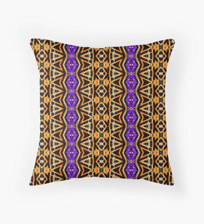 Aztec Halloween   Tribal pattern Floor Pillow
