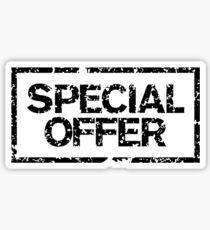 Special Offer (Black) Sticker