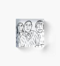 The Vlant Men Acrylic Block