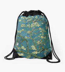 Van Gogh Almond Blossoms Drawstring Bag