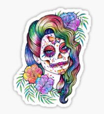 Daydreamer | Sugar Skull Girl Sticker