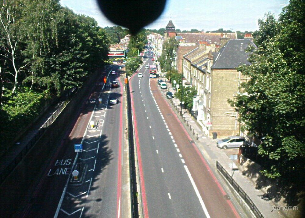 View from Archway Road Bridge by jeanemm