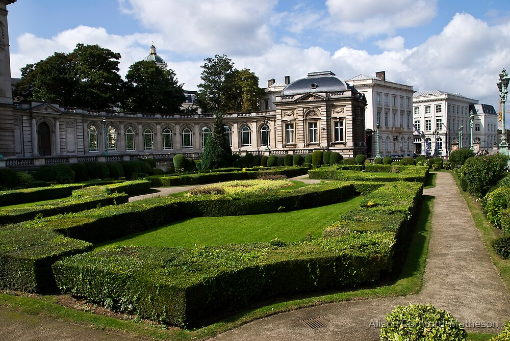 Royal Palace - Brussels, Belgium by Alison Cornford-Matheson