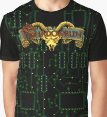Shadowrun (Genesis Title Screen) Graphic T-Shirt